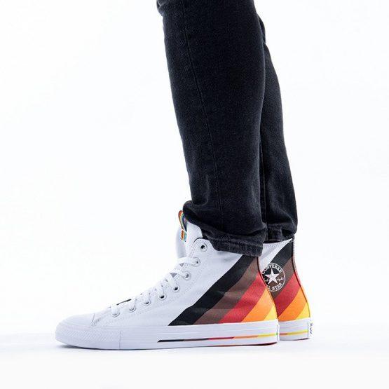 נעליים קונברס לגברים Converse Chuck Taylor All Star Pride - לבן