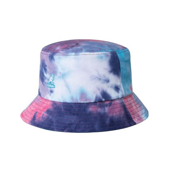 כובע קנגול לגברים Kangol Tie Dye Bucket - צבעוני