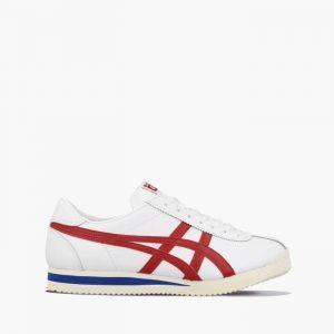 נעליים אסיקס לגברים Asics Serrano - לבן  כחול  אדום