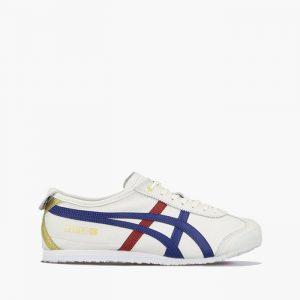 נעליים אסיקס לגברים Asics Tiger Mexico 66 - לבן  כחול  אדום