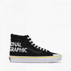 נעליים ואנס לגברים Vans x National Geographic UA Sk8-Hi Reissue 13 - שחור