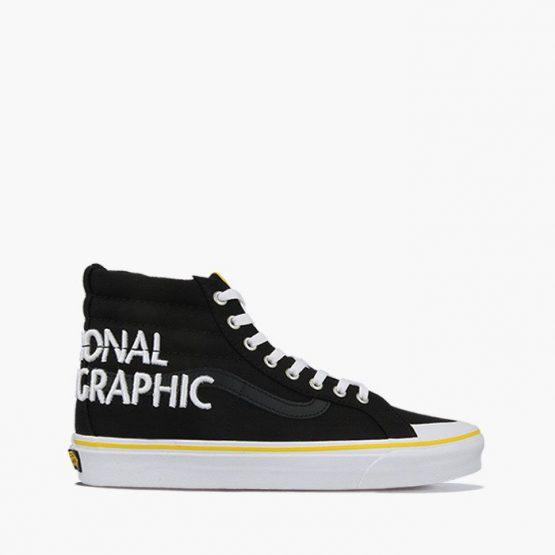 נעלי סניקרס ואנס לגברים Vans x National Geographic UA Sk8-Hi Reissue 13 - שחור