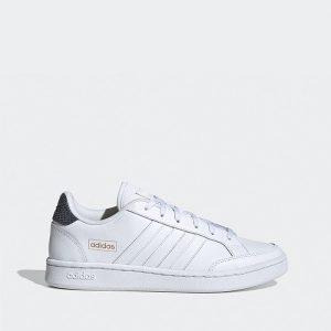 נעלי סניקרס אדידס לנשים Adidas Originals Grand Court - לבן/שחור