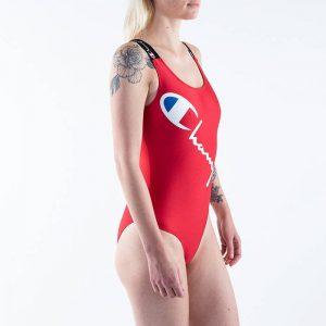 ביגוד צ'מפיון לנשים Champion Swimming Suit - אדום