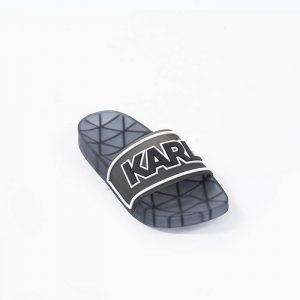 נעליים קרל לגרפלד לנשים Karl Lagerfeld Kondo Klear Slide - שקוף