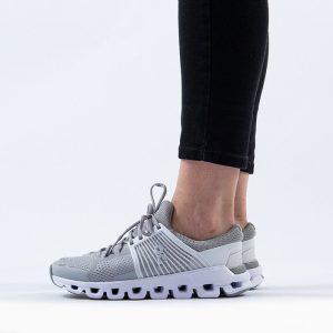 נעלי ריצה און לנשים On Running Cloudswift - אפור