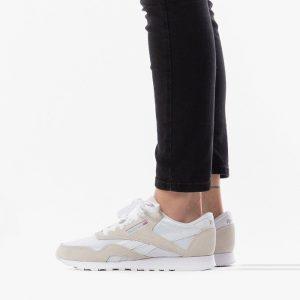 נעלי סניקרס ריבוק לנשים Reebok Classic Nylon - בז'