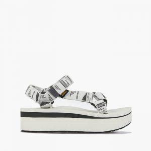 נעליים טיבה לנשים Teva Midform Platform Universal - לבן