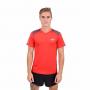 חולצת אימון VN לגברים VN Never Stop Running - אדום