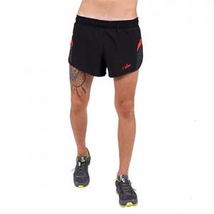 מכנס ספורט VN לגברים VN Never Stop Running - שחור/אדום