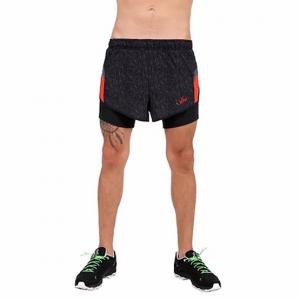 ביגוד VN לגברים VN Never Stop Running - שחור/אדום