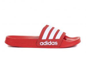 נעליים אדידס לגברים Adidas ADILETTE SHOWER - אדום