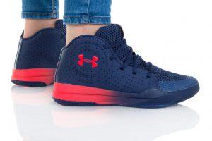 נעלי סניקרס אנדר ארמור לנשים Under Armour GS JET 2019 - כחול כהה