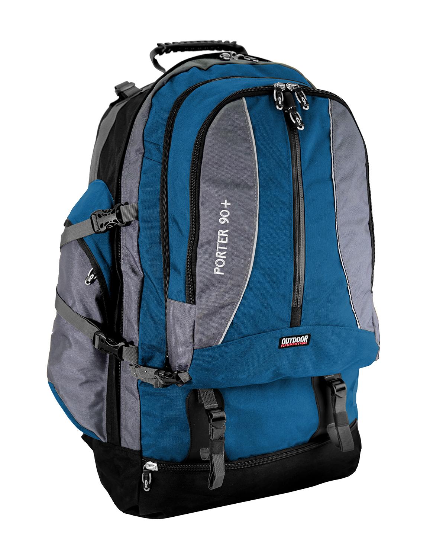 אביזרים אווטדור לגברים Outdoor Porter 90L - אפור/כחול
