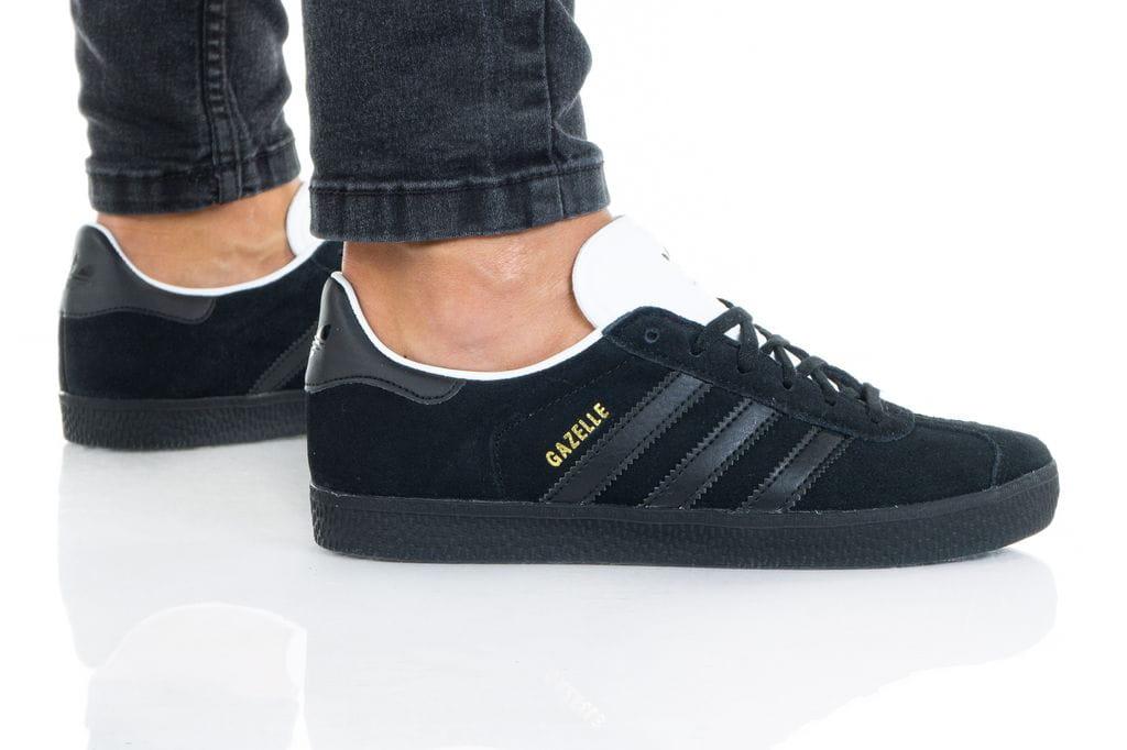 נעלי סניקרס אדידס לנשים Adidas Gazelle - שחור/אפור