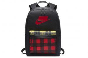 תיק נייק לגברים Nike HERITAGE - שחור/אדום