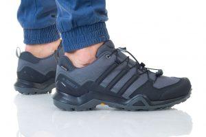 נעליים אדידס לגברים Adidas TERREX SWIFT R2 GTX - שחור/אפור