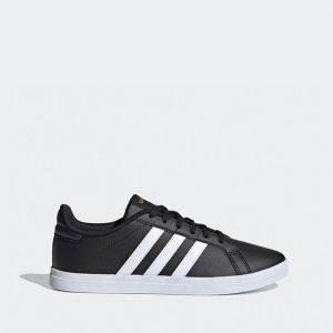 נעלי סניקרס אדידס לנשים Adidas Originals Courtpoint - שחור