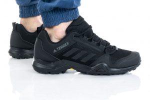 נעלי טיולים אדידס לגברים Adidas Terrex AX3 - שחור מלא