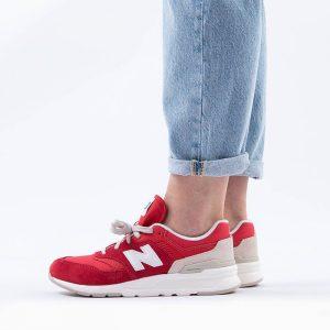 נעליים ניו באלאנס לנשים New Balance GR997 - לבן/אדום