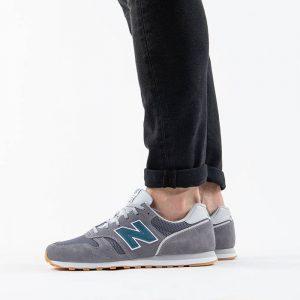 נעלי סניקרס ניו באלאנס לגברים New Balance ML373 - אפור/כחול