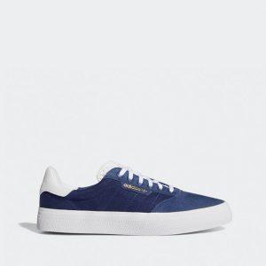 נעלי סניקרס אדידס לגברים Adidas Originals 3MC - לבן/ כחול