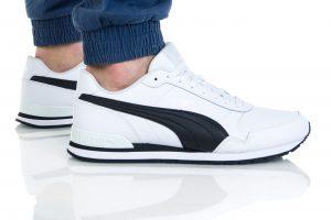 נעלי סניקרס פומה לגברים PUMA ST Runner v2 Mesh - לבן