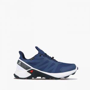 נעלי ריצת שטח סלומון לגברים Salomon Supercross Gore-Tex GTX - כחול כהה