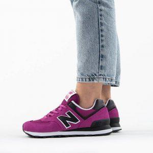 נעליים ניו באלאנס לנשים New Balance WL574 - סגול/ורוד