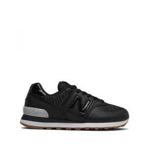 נעלי סניקרס ניו באלאנס לנשים New Balance WL574 - שחור פחם