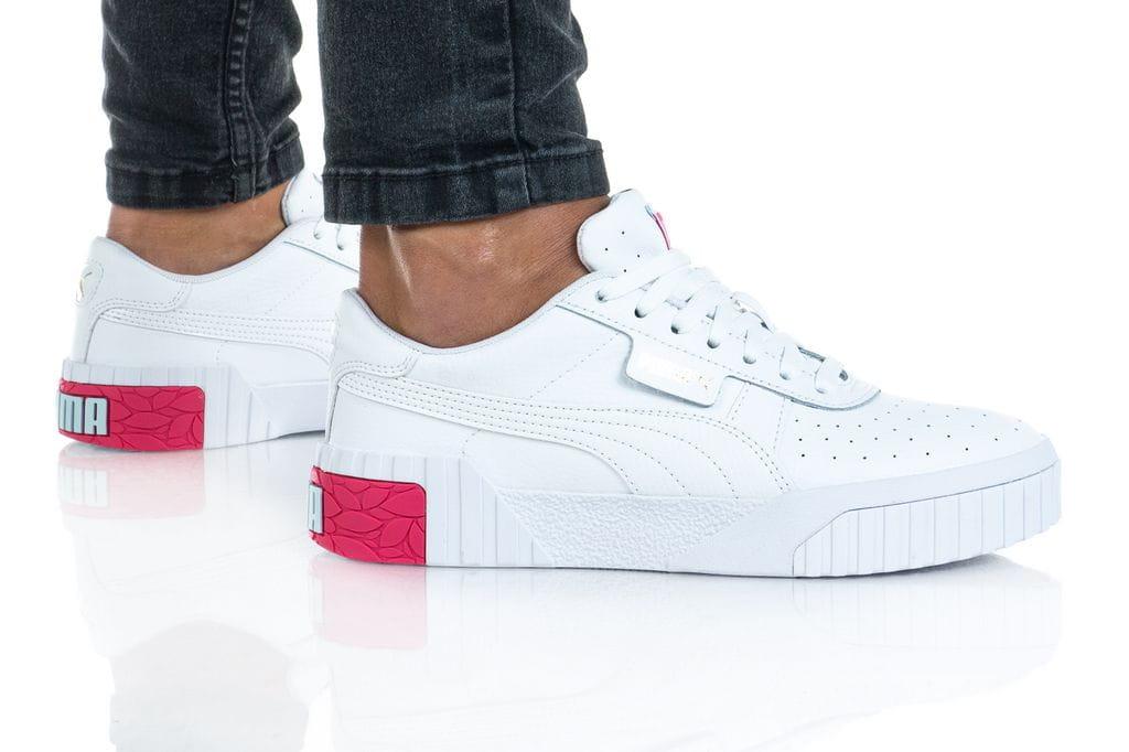 נעלי סניקרס פומה לנשים PUMA Cali Wns - לבן הדפס
