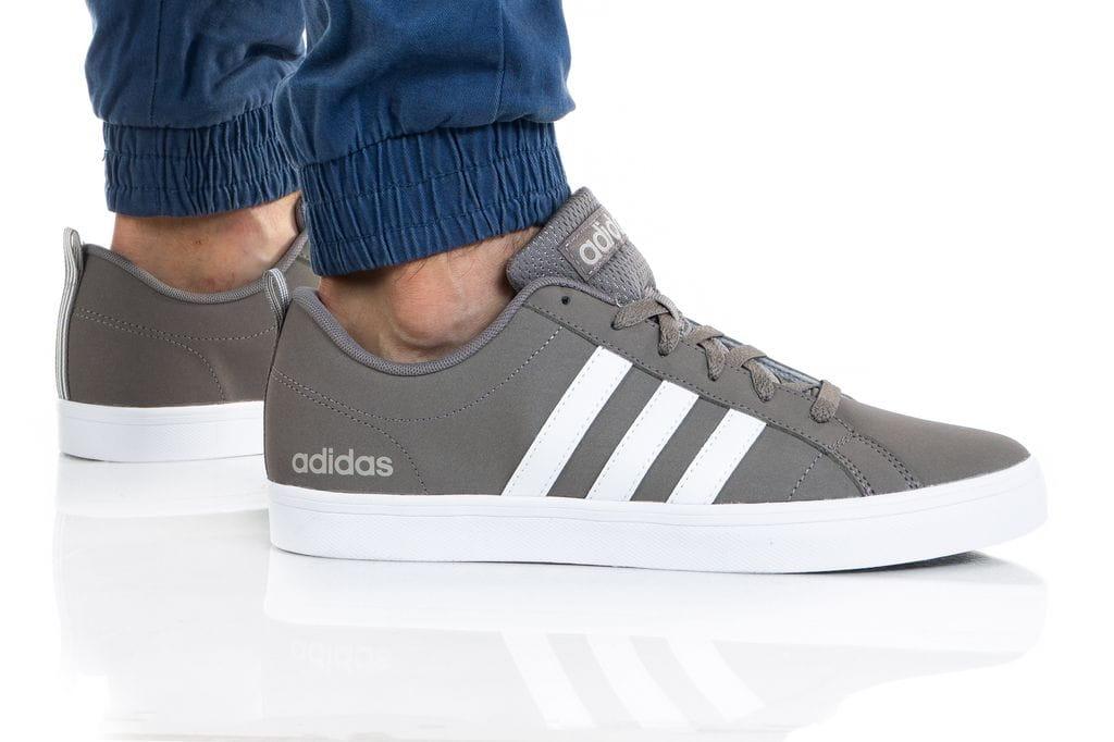 נעלי סניקרס אדידס לגברים Adidas VS PACE - אפור/לבן