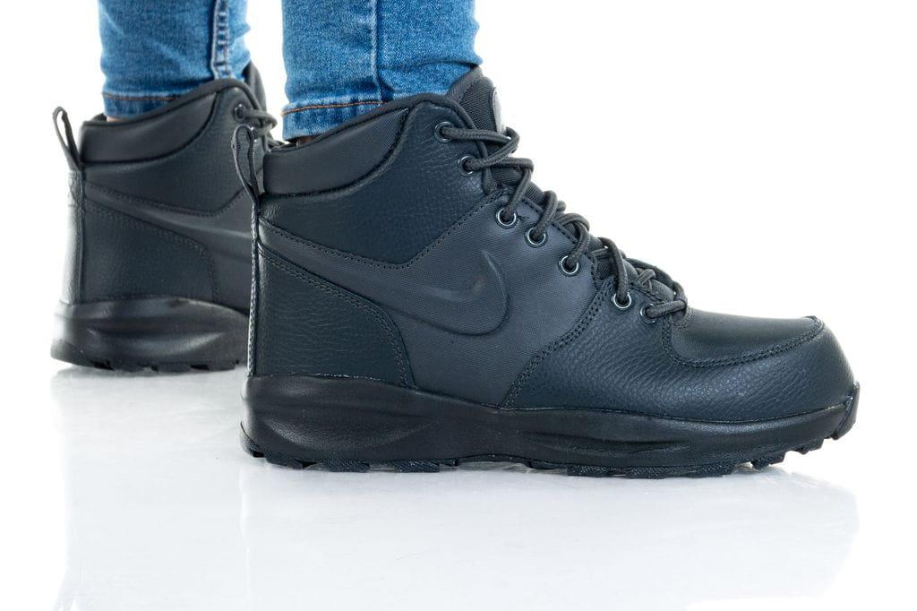 נעלי סניקרס נייק לנשים Nike MANOA LTR GS - שחור