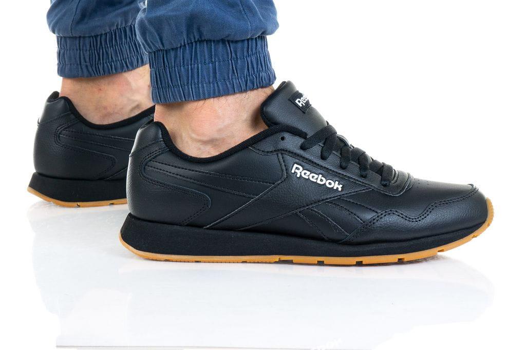 נעלי סניקרס ריבוק לגברים Reebok ROYAL GLIDE - שחור/חום