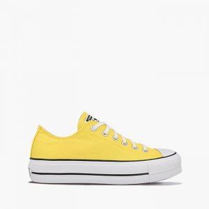 נעליים קונברס לנשים Converse Chuck Taylor All Star Lift - צהוב
