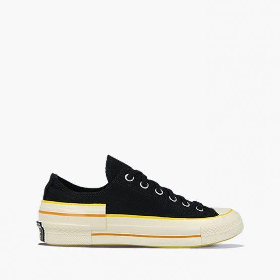 נעלי סניקרס קונברס לנשים Converse Chuck 70 OX - לבן/שחור