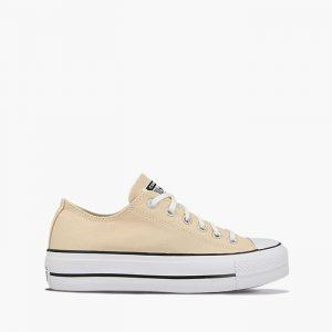 נעליים קונברס לנשים Converse Chuck Taylor All Star Lift - בז'