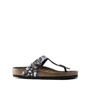 נעליים בירקנשטוק לנשים Birkenstock Gizeh - פרחוני