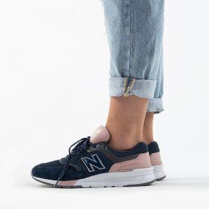 נעלי סניקרס ניו באלאנס לנשים New Balance CW997 - ורוד/כחול