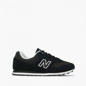 נעלי סניקרס ניו באלאנס לגברים New Balance ML393 - שחור/לבן