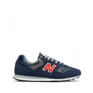 נעלי סניקרס ניו באלאנס לגברים New Balance ML393 - כחול
