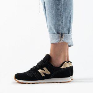 נעלי סניקרס ניו באלאנס לנשים New Balance WL373 - שחור/צהוב