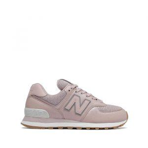 נעלי סניקרס ניו באלאנס לנשים New Balance WL574 - ורוד מלא
