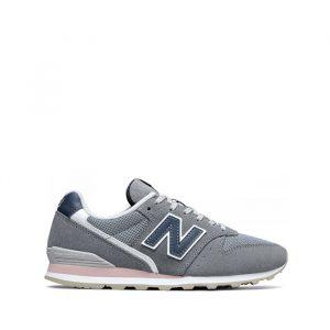 נעלי סניקרס ניו באלאנס לנשים New Balance WL996 - אפור/כחול