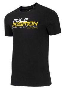 חולצת T פור אף לגברים 4F H4L20 TSM020 - שחור