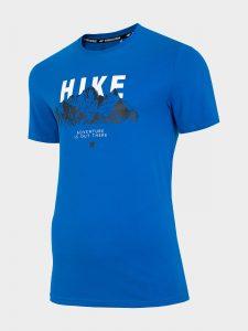 חולצת T פור אף לגברים 4F H4L20 TSM061 - כחול