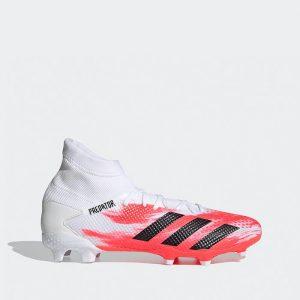 נעליים אדידס לגברים Adidas PREDATOR 20.3 FG - לבן/ורוד