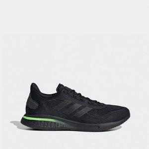 נעלי ריצה אדידס לגברים Adidas Supernova - שחור/ירוק