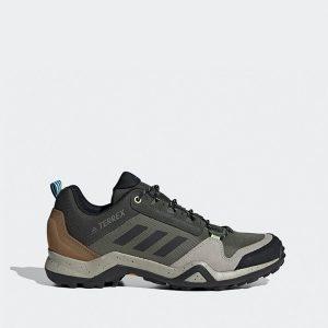 נעלי טיולים אדידס לגברים Adidas Terrex AX3 - צבעוני כהה