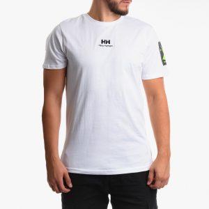 חולצת T הלי הנסן לגברים Helly Hansen Urban Twin Logo - לבן